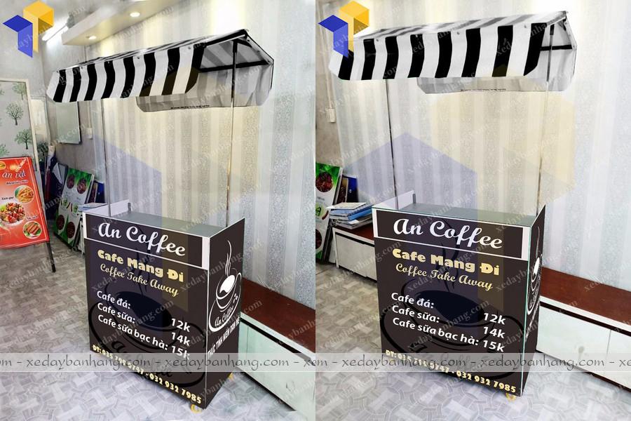 xe cafe mang đi