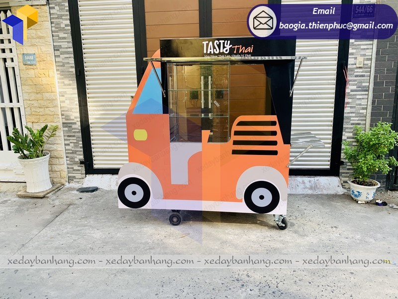 xe thức ăn vặt giá rẻ