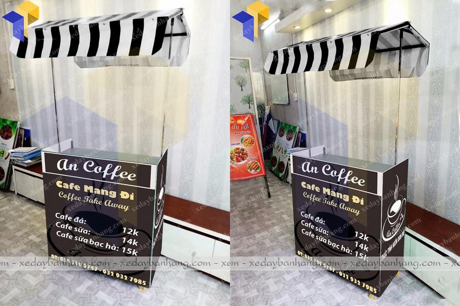 xe cafe take away lắp ráp