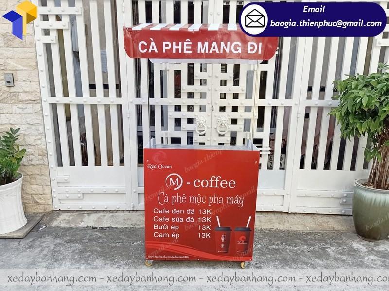 booth bán café mini lắp ráp giá rẻ
