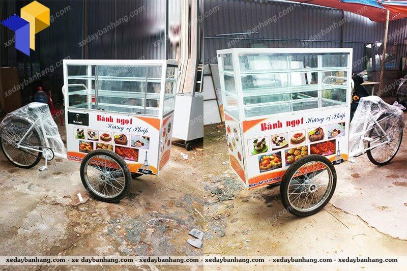 xe đạp bán bánh ngọt giá rẻ