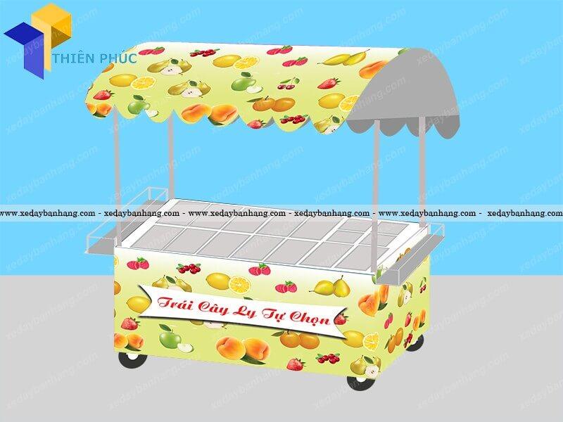 xe trái cây tự chọn mang đi đẹp