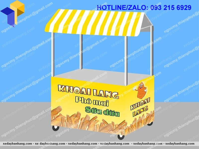 booth bán hàng lưu động giá rẻ