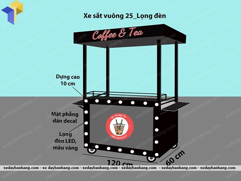 đóng xe bán cà phê lưu động
