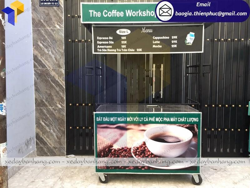 xe cà phê pha máy đẹp