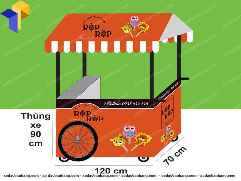 xe bán kem giá rẻ