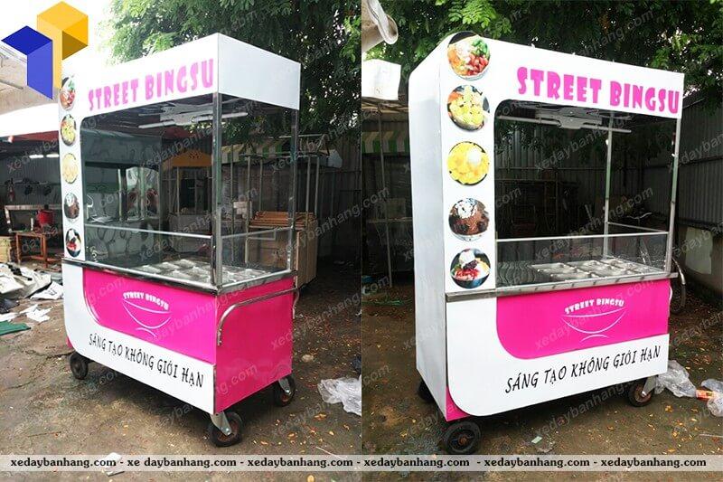 xe bán trái cây tô tự chọn giá rẻ
